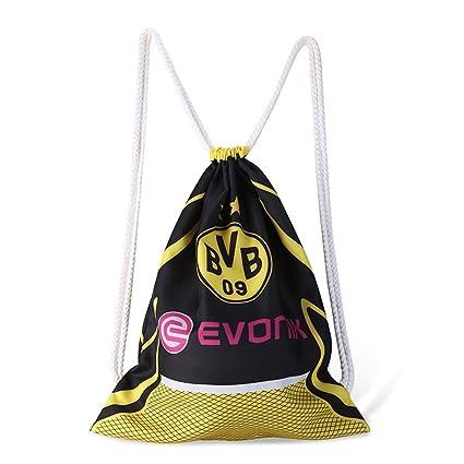b67629b8e6e Amazon.com  ShiningLove Pretty Drawstring Bag Football Bag Practical ...