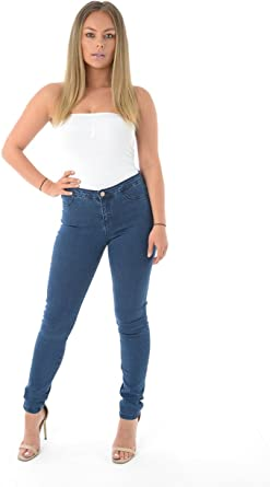 Ladies Ex Designer /'super skinny/' Womens Jeggings Skinny Super Stretch Jeans