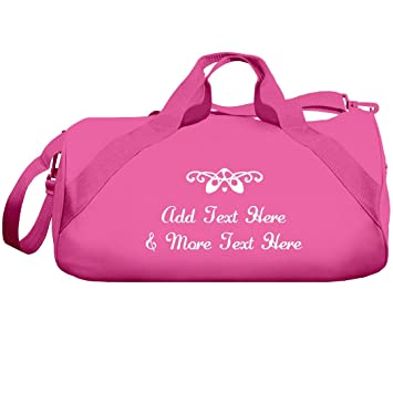 87180da71543 Amazon.com | Custom Dance Studio & Name Bag: Liberty Barrel Duffel ...