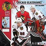 Turner Licensing Sport 2017 Chicago Blackhawks Team Wall Calendar, 12''X12'' (17998011936)
