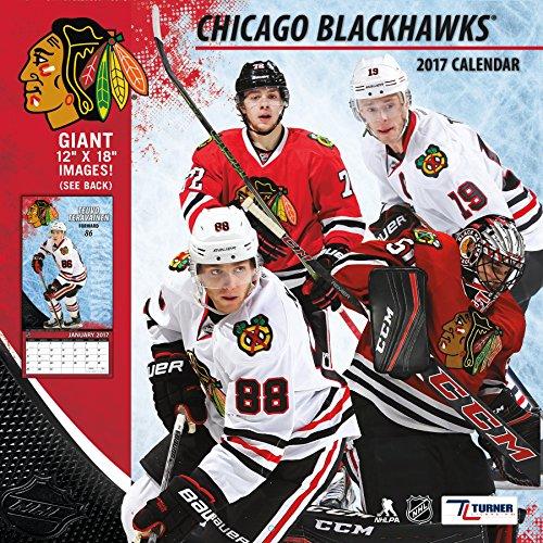 Turner Licensing Sport 2017 Chicago Blackhawks Team Wall Calendar, 12