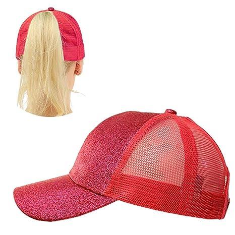 Aolvo - Sombrero de béisbol con lentejuelas 5625ddf3c5c
