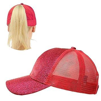 59429c40d568d Pawaca Casquette de Baseball - Femme rouge Red: Amazon.fr: Cuisine ...