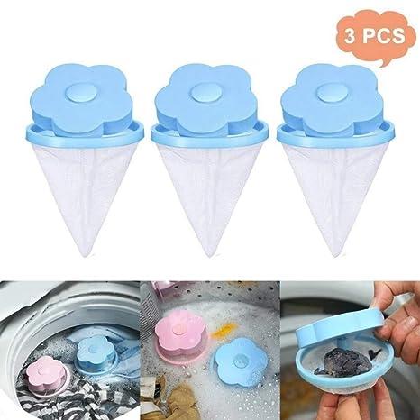Bequee - Bolsa con filtro para lavadora, color azul: Amazon.es ...