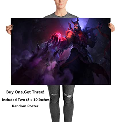 Amazon.com: MS Fun Blood Moon Skin Darkness Ninja Shen ...