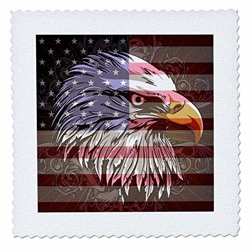 3dRose qs 116181 4 Patriotic American Independence