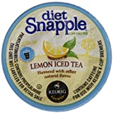 Snapple Diet Lemon Iced Tea, 22 Count