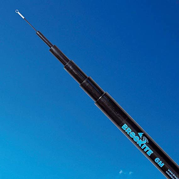 1m MagiDeal 2pcs Teleskop Fahnenmast Fahnenmast im Freien Windsocks