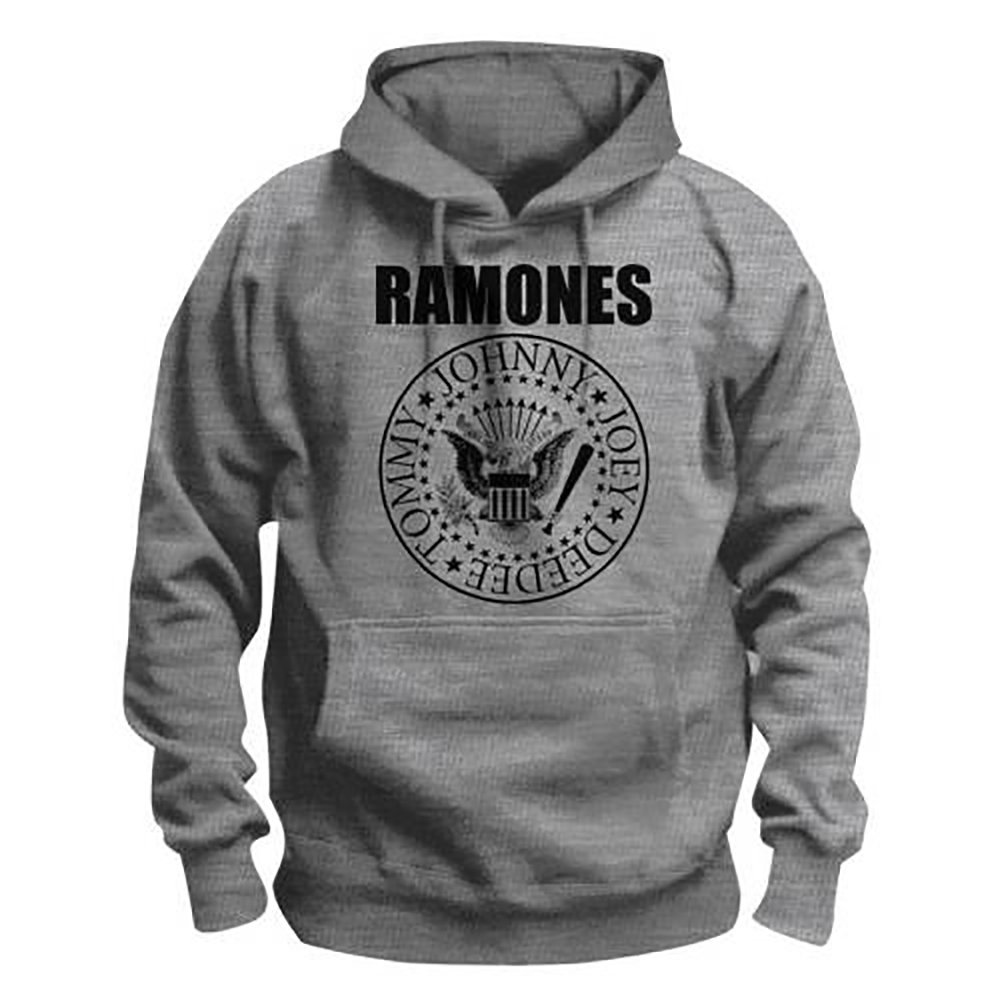 Ramones Ramones Ramones - Presidential Seal, Kapuzenpullover, Farbe  Grau B01MSX7ZF5 Kapuzenpullover Reichhaltiges Design 0179a4