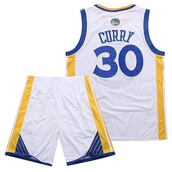 Rying Camiseta de Baloncesto para Hombre, Curry #30 Bordado ...