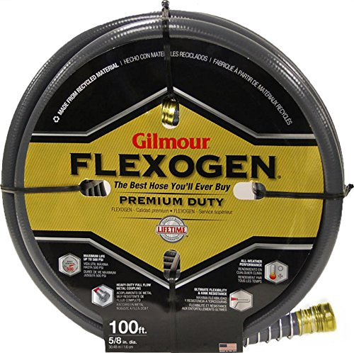 FLEXOGEN 8-PLY GARDEN HOSE - 100 FTX5/8 IN