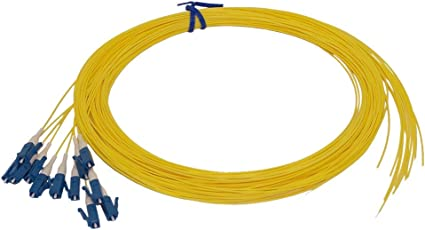 12 Strand 9//125 Fiber Optic Pigtail 1.5m SC//UPC Single Mode,12 fiber pigtail