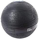Exerciseball - 66 Fit Slam Ball - Black, 5 kg