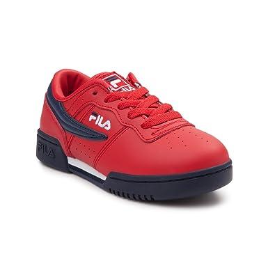 20d907b8fe07f Fila Kid s Original Fitness Sneakers Fila Red Fila Navy White 1