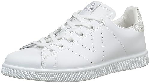 Victoria Deportivo Basket Piel, Zapatillas Para Hombre, Negro, 45 EU