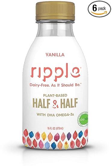 62ace0fca8fb4 Ripple Original Dairy Free Plant Based Half & Half Vanilla, 16 Oz ...