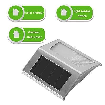 LED éclairage Energie solaire Lumière d\'escalier Applique murale ...