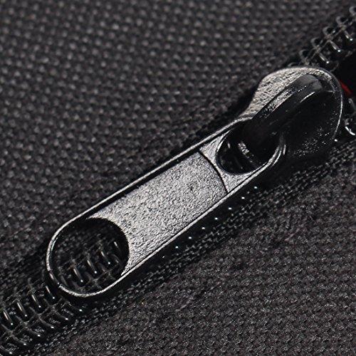sourcingmap® Fahrrad Schwarz Fahrradtasche Rahmentaschen Triangle B-SOUL Berechtigt