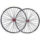 ZNND 26 Bike Wheelset, Double Wall MTB Rim Quick Release V-Brake Hybrid/