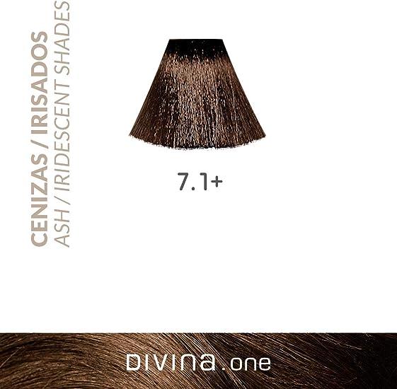 Eva Professional Hair Care Tinte Profesional Divina N.7.1+ 60 ...