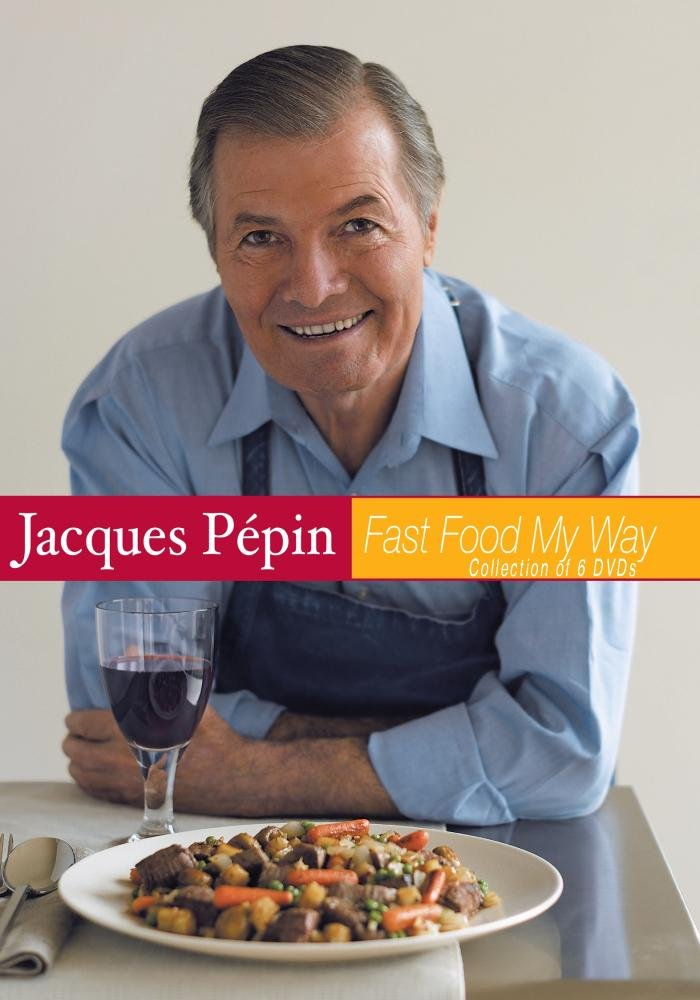 Jacques Pepin Fast Food My Way Set of 6