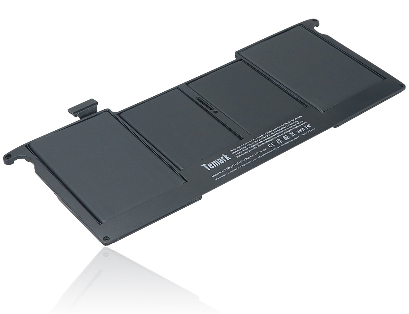 Temark New A1495 A1406 Laptop Battery for MacBook Air 11 ...