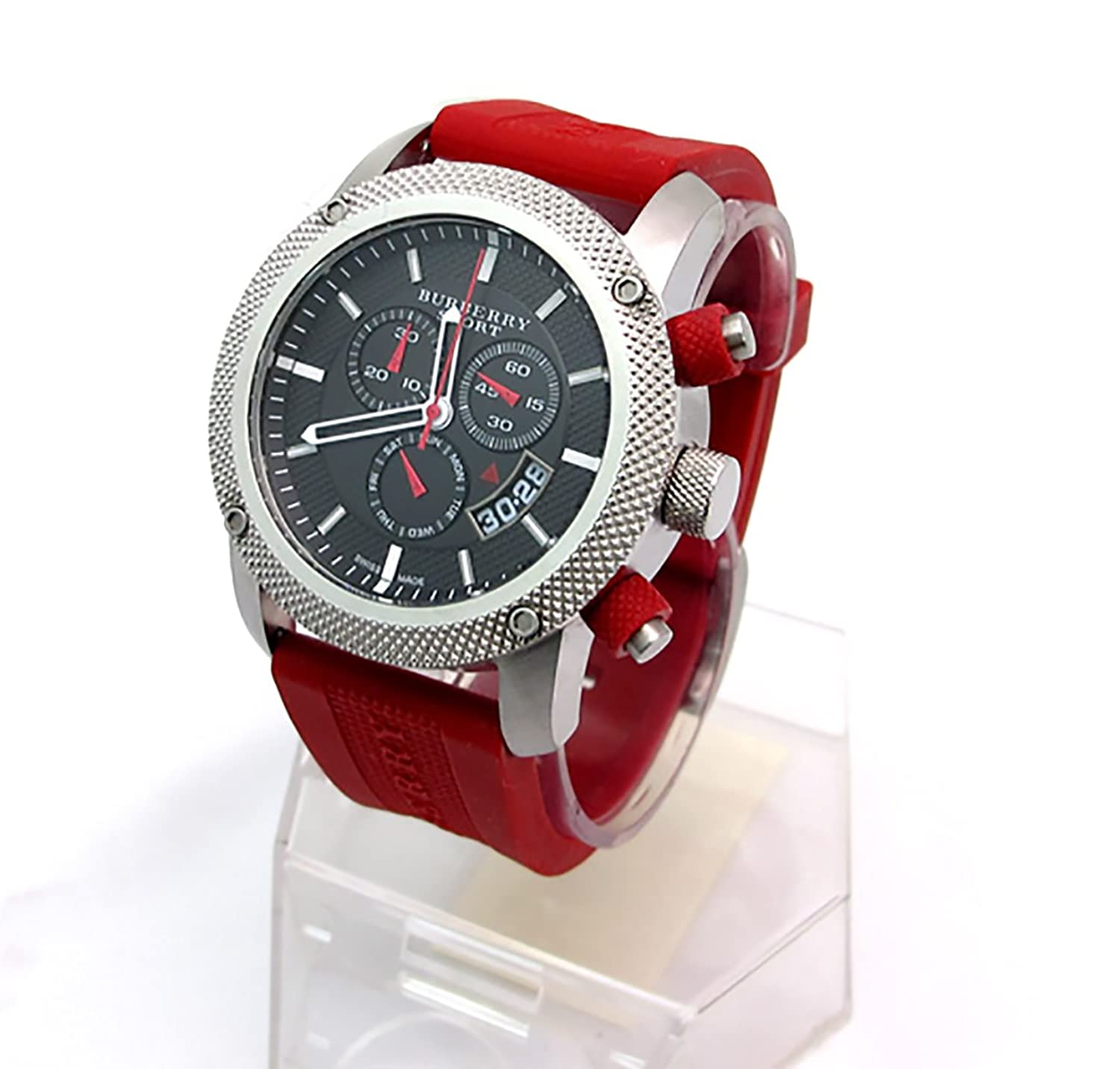 mens k red watches u men leather uk b watch polo