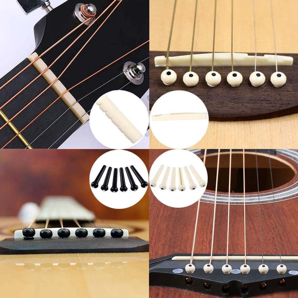 Bosunny 60 PCS Kit de Accesorios de Guitarra que Incluye Púas Para ...