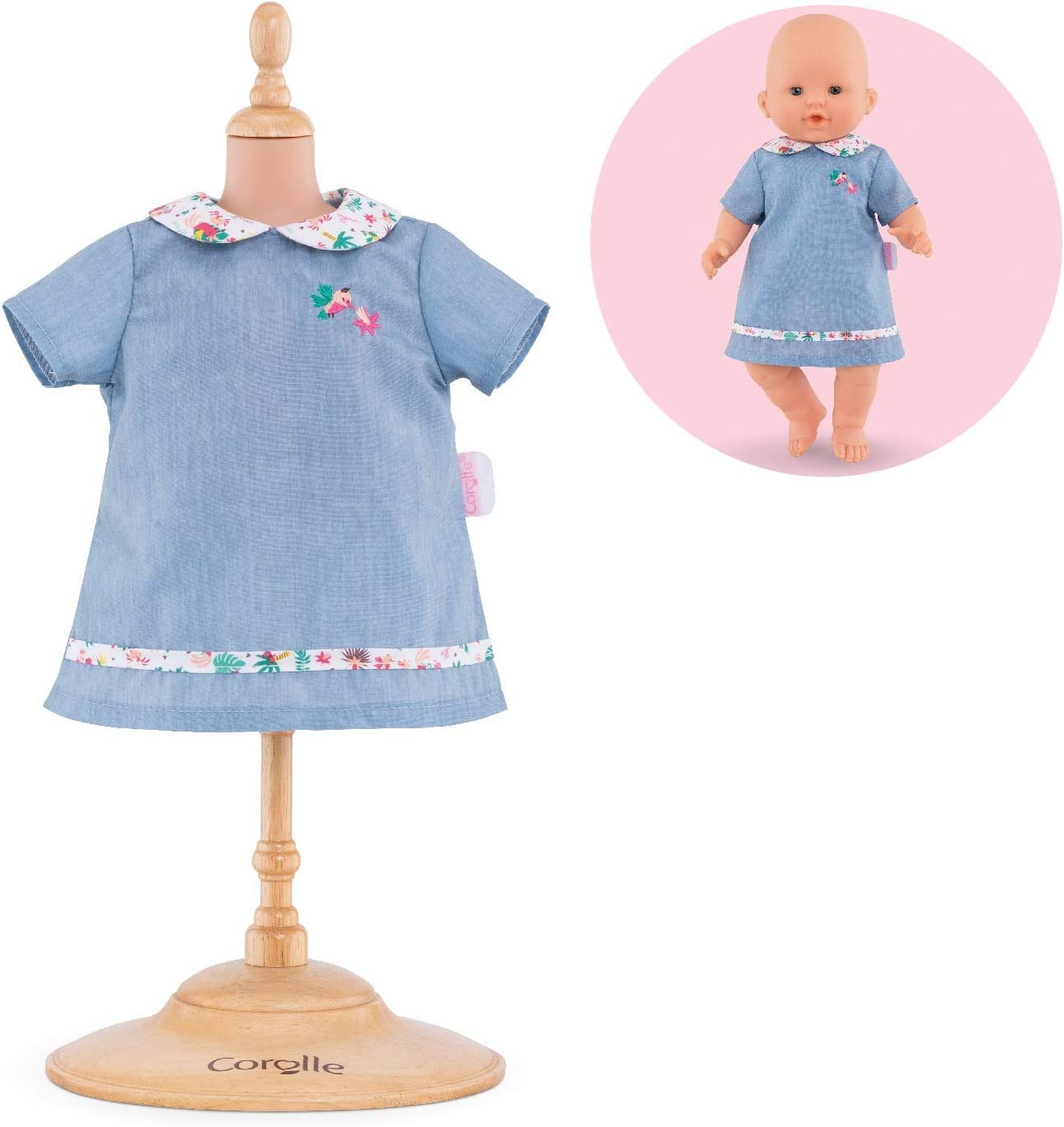 Corolle Mon Grand Poupon 17 Happy Reindeer Dress Toy Baby Doll