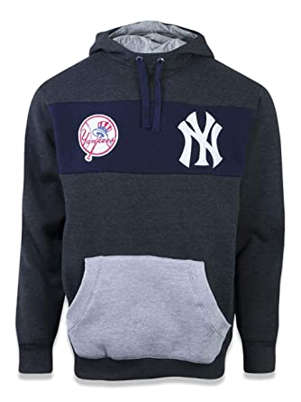 MOLETOM CANGURU FECHADO NEW YORK YANKEES MLB NEW ERA  Amazon.com.br ... 640aa85f60e