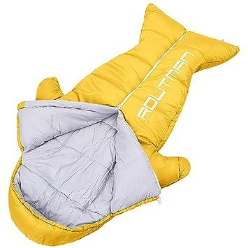 LIZI Saco de Dormir Ligero para los niños Saco de Dormir de la Momia, Saco