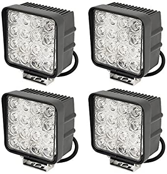 Greenmigo Led Work Lights Backup Lights For Tractor Digger 3800 Lm 6000 K 67ip 48 W Led Pack Of 4 Amazon Co Uk Car Motorbike