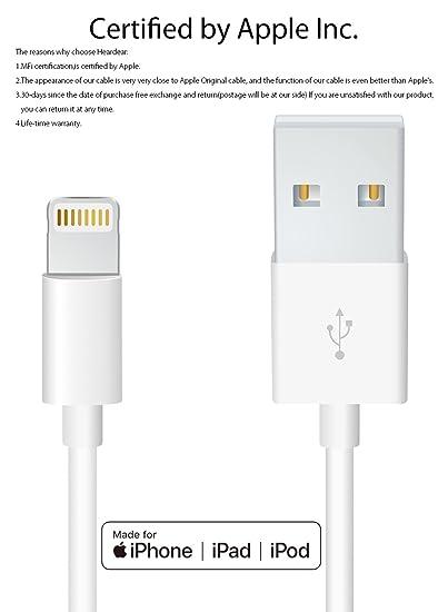 Iphone 5s Lightning Cable Original: Amazon.com: Apple iPhone/iPad charging/charger Cord/Line Heardear rh:amazon.com,Design