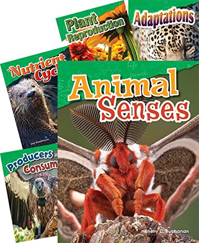 4th Grade Literacy - Life Science Grade 4: 5-Book Set (Science Readers: Content and Literacy)