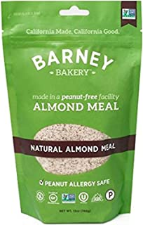 product image for BARNEY Natural Almond Meal, Paleo, KETO, Non-GMO, Peanut-Free, 13 Ounce Resealable Bag (Pack of 6)