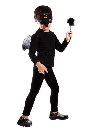 Seruna Disfraz de halloween murciélago infantil, talla única
