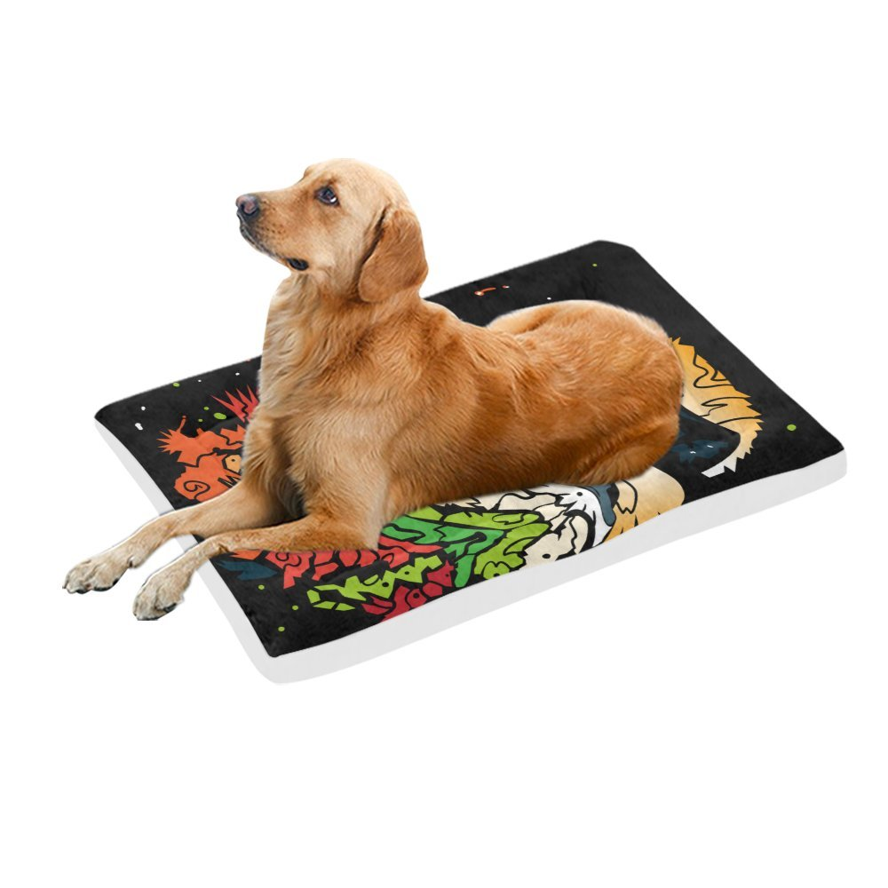 42\ your-fantasia Abstract Roaring Lion Pet Bed Dog Bed Pet Pad 42 x 26 inches
