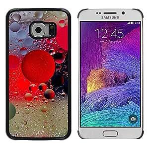 Stuss Case / Funda Carcasa protectora - Raindrops Rain Water Fog Lights City Glass - Samsung Galaxy S6 EDGE SM-G925