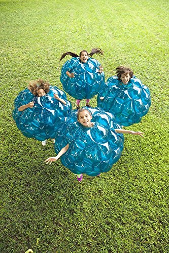 Inflatable 36'' Wearable Buddy Bumper Zorb Balls Heavy Duty Durable PVC Viny Bubble Soccer Outdoor Game (2-Pack)