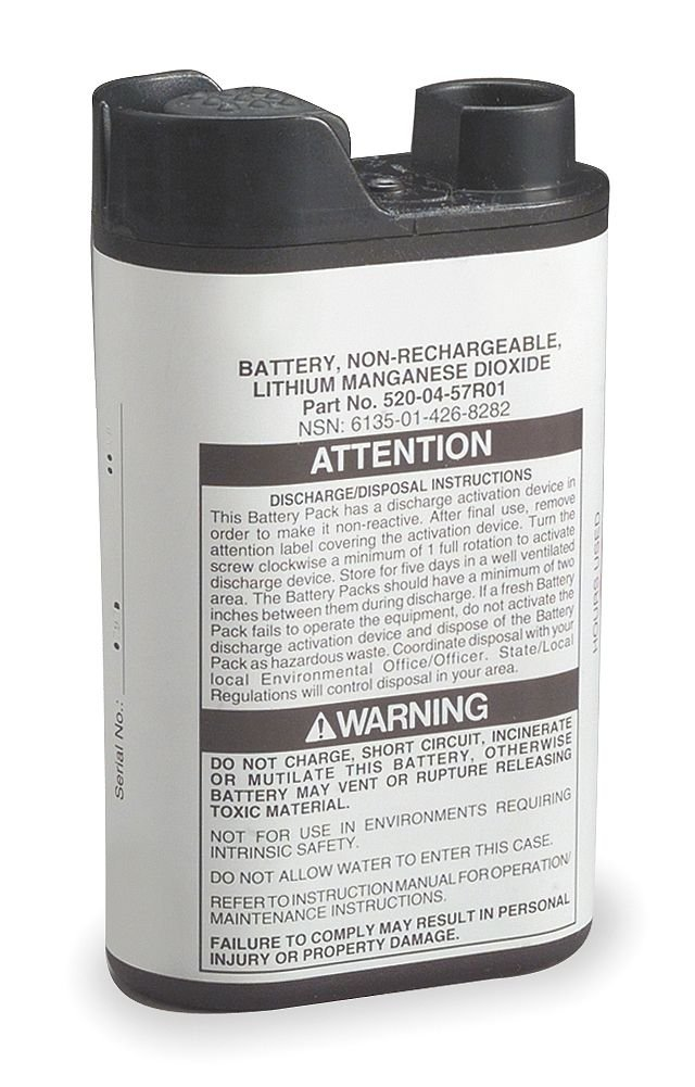 3M Breathe Easy PAPR 520-04-57 Lithium Battery Pack
