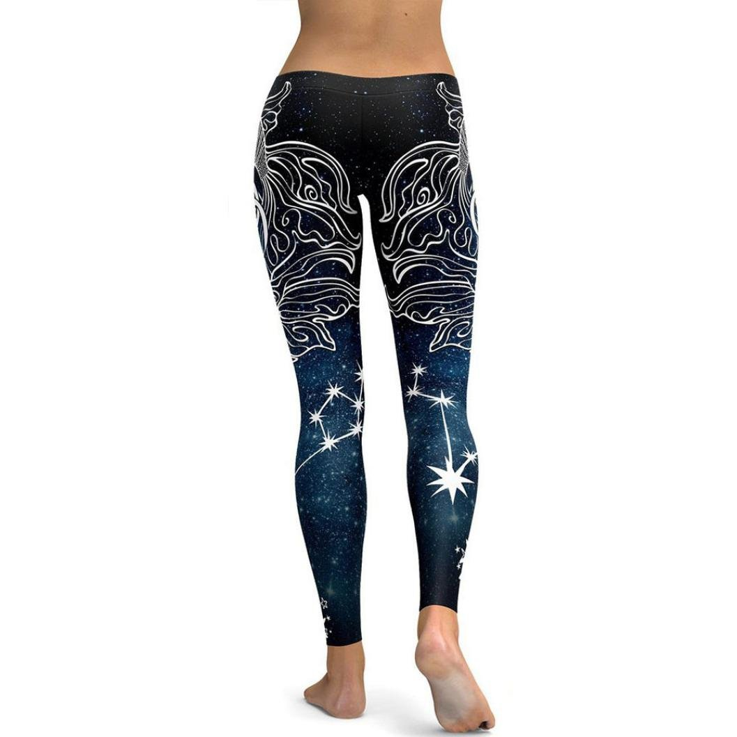 Amazon.com: WM & MW Clearance Women Leggings Novelty Printed ...