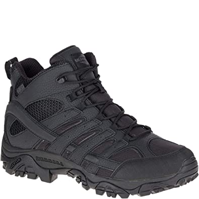 outlet boutique retail prices best sale Merrell Moab 2 Mid Tactical Waterproof Boot Wide Men's