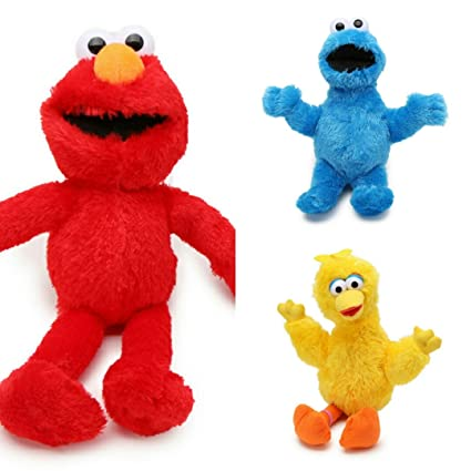 Amazon Com Sesame Street Characters Plush Toys Cookie