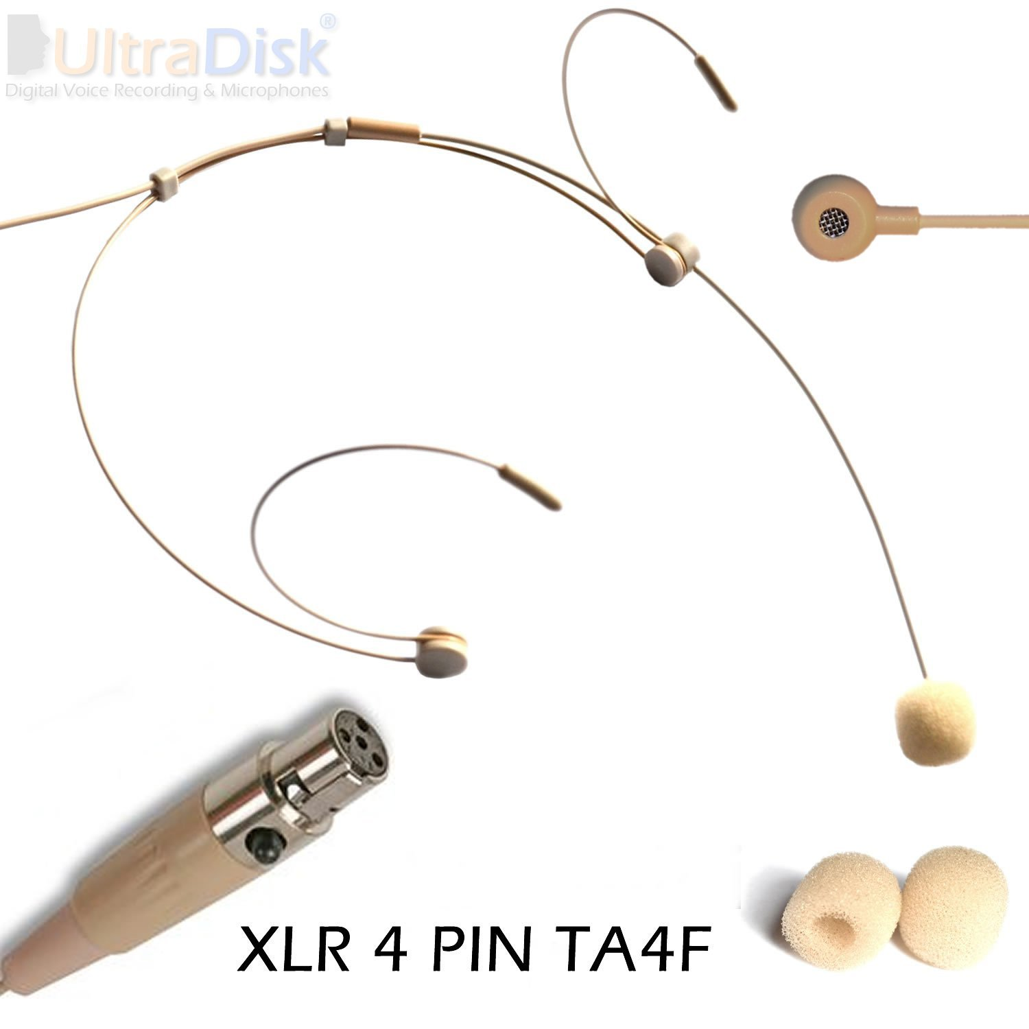 61vWRucy%2B8L._SL1500_ headworn skin microphone 4 pin mini xlr ta4f wireless body ta4f to xlr wiring diagram at bakdesigns.co