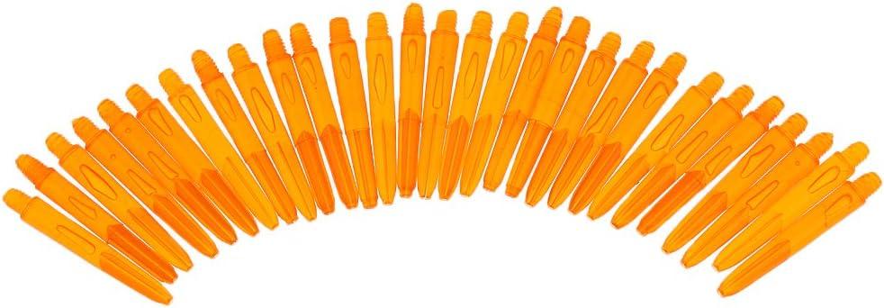 Perfeclan 30 St/ück 35mm 2BA Gewinde Kunststoff Dartsch/äfte
