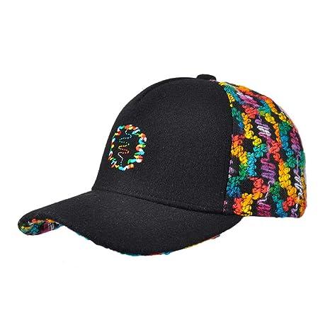 Amazpro Gorra De Béisbol Negra para Mujer 8dfa15252f6