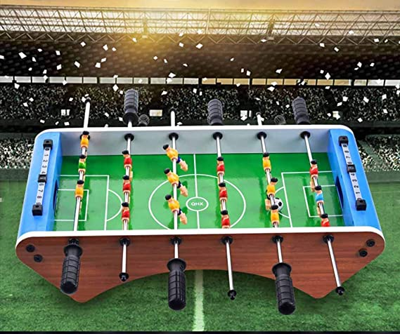 AK Fútbol de mesa de futbolín jugadores diversión de la familia de juguete Juego de niños Juego de Juego de regalo de cumpleaños de Navidad de la Navidad,si: Amazon.es: Bricolaje y herramientas