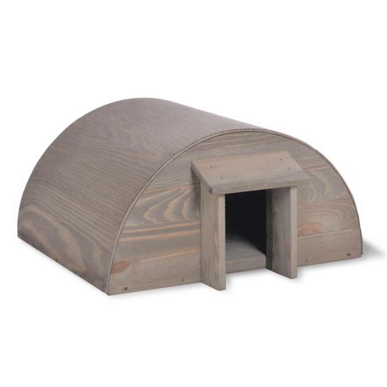 CKB LTD Hedgehog House Outdoor Garden Outside Habitat House - Wooden - Can Also Be Used For Hibernation Home