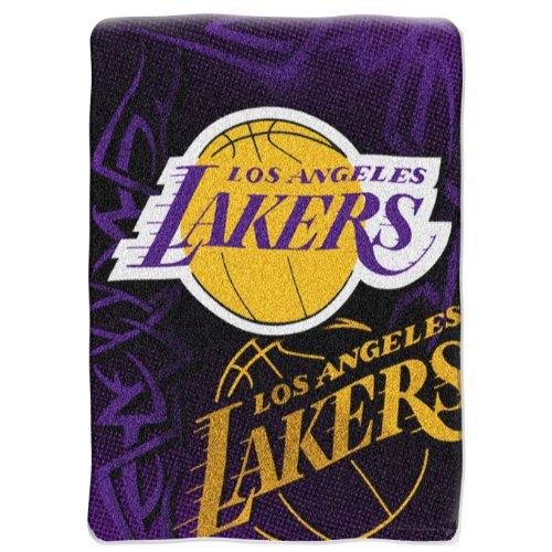 Northwest Los Angeles Lakers Raschel 80x60 Plush Blanket