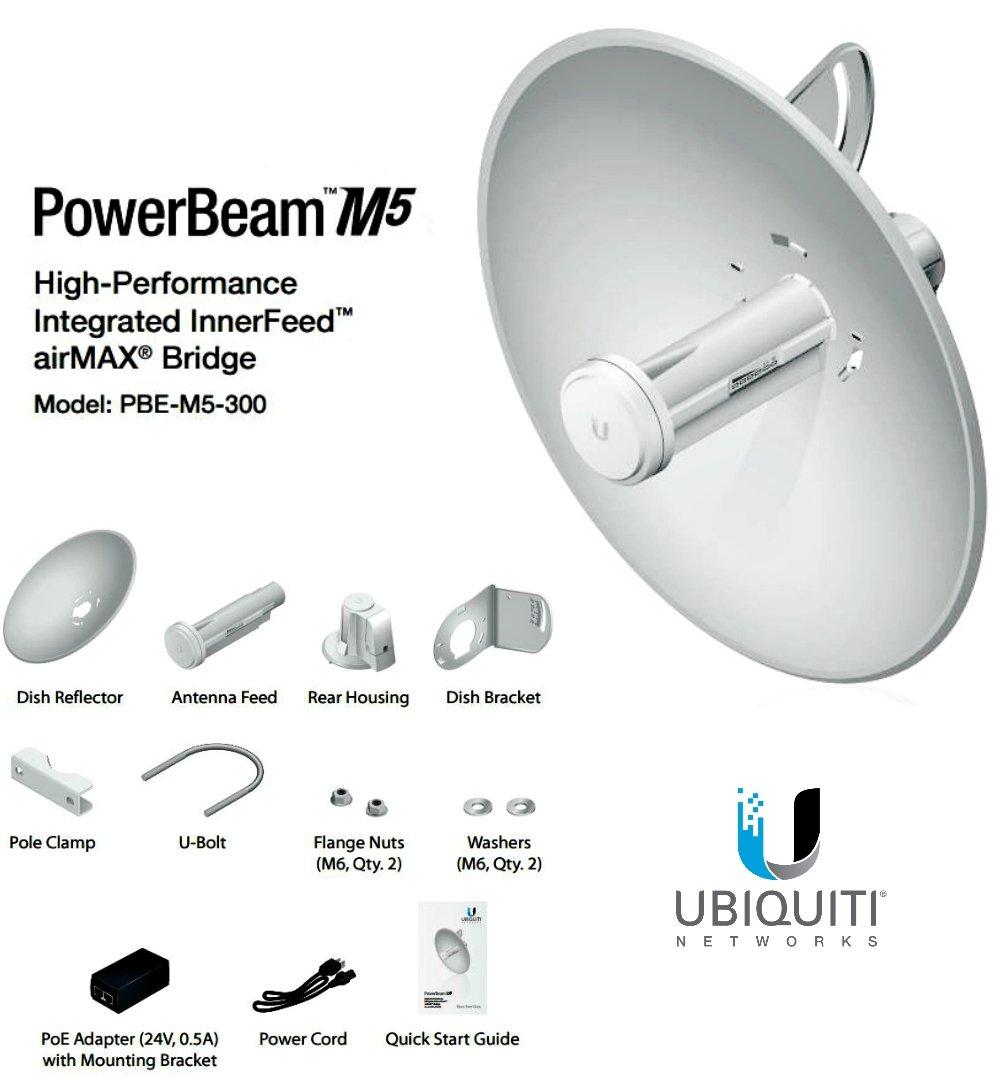 Ubiquiti PowerBeam Antenna (PBE-M5-300)